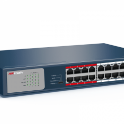 HIKVISION DS-3E0318P-E/M SWITCH POE 16 ports 10/100+1 giga + sft...