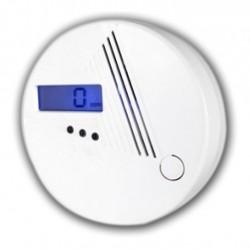 Detector de Monoxido de Carbono CO Autonomo a Bateria