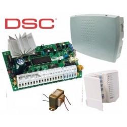 Central PC585+TECLADO PC1555RKZ+GABINETE+TRAFO -- PC585ZD Central 4...
