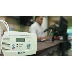 Detector monoxido de carbono homologado a bateria TEDCO 878-CO