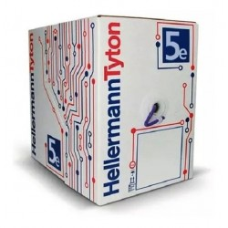 Cable UTP Cat5e EXTERIOR HELLERMANN TYTON x caja 305mtrs