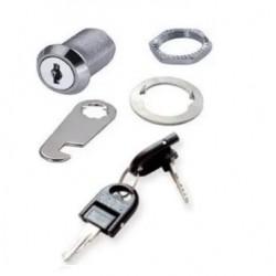 Cerradura para gabinete Talemec con dos llaves
