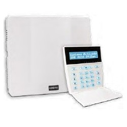 A2K4-NG-LCD Central Cableada, 6 zonas + 1 en teclado, expandible a...