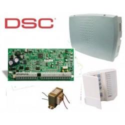 DSC PC1832 + TECLADO PC1555RKZ + Gabinete + Trafo