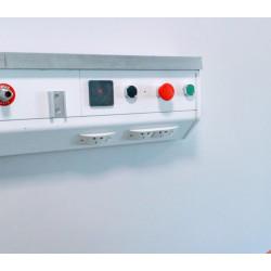 central de habitación con botonera para montaje en ducto con lector...
