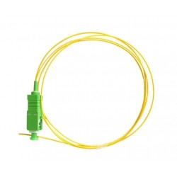 Pigtail fibra optica monomodo SC/APC-SM-SX-0.9mm LSZH 2M