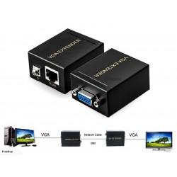 Extensor VGA sobre UTP hasta 60 mtrs