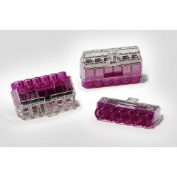 Conectores Rapidos - Empalme HelaCon Plus Mini HCPM-6 Cabl. Violeta