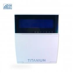 T-LCD732RF Teclado LCD Garnet Titanium