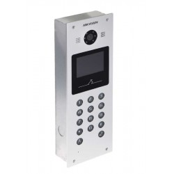 Hikvision DS-KD3002-VM VideoPortero Multifamiliar p/edificios IP65