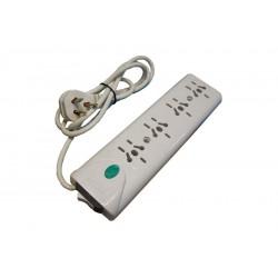 Zapatilla 4 tomas c/ interruptor c/cable