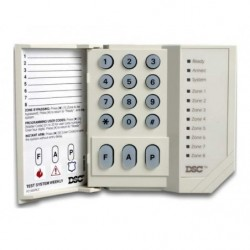 DSC PC1555RKZ Teclado led para Power Series