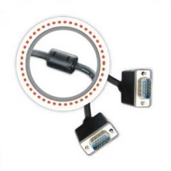Cable VGA 20 Mt GRALF reforzado con filtro