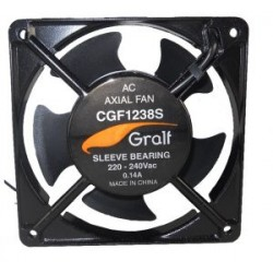 CGF-1238B.Cooler GRALF. 220.120x120x38mm Ruleman (turbina)